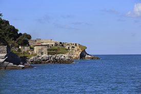 pic of saracen  - Second world war fortification on Tino island - JPG