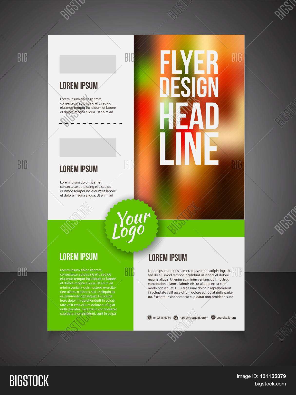 business brochure or offer flyer design template Brochure design – Business Brochure Design