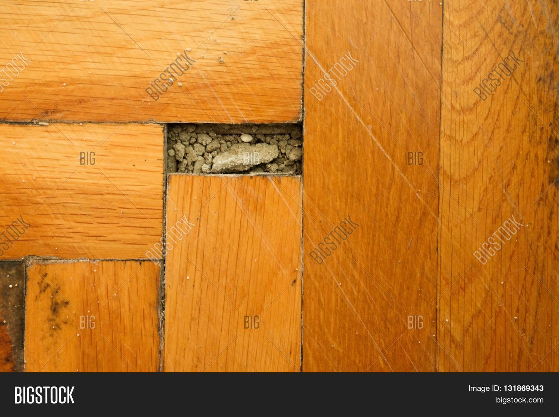 Worn out wooden floor sports hall image photo bigstock Worn wood floors