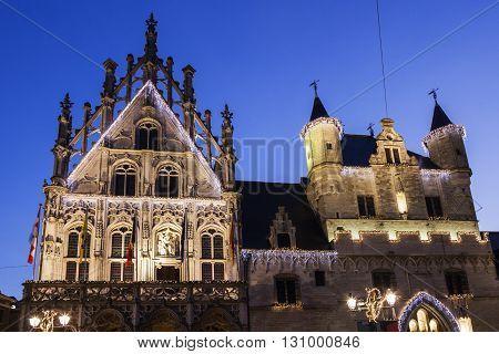 Mechelen City Hall. Mechelen Flemish Region Belgium