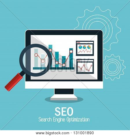 search engine optimization design, vector illustration eps10 graphic