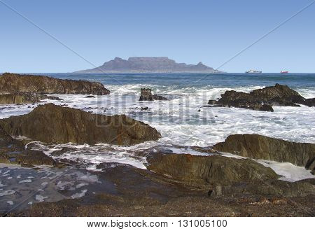 View Of Table Mountain From Blouberg, Cape Town South Africa 09