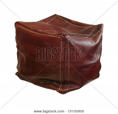 Leather Hassock