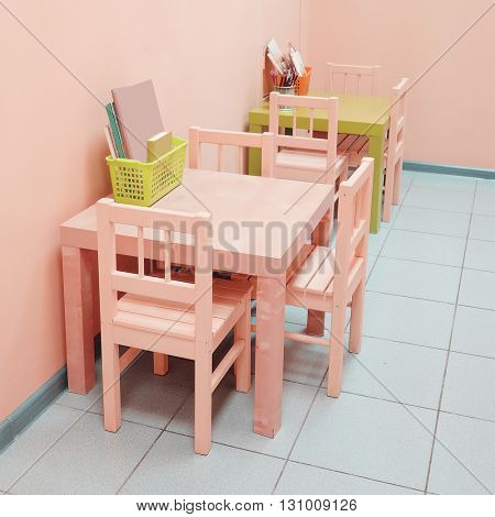 Children zone in a paediatrician clinic