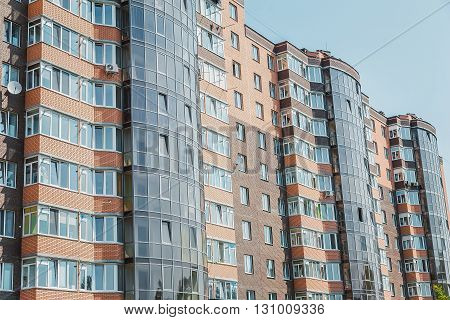 Real estate luxury housing apartment Flats  windows