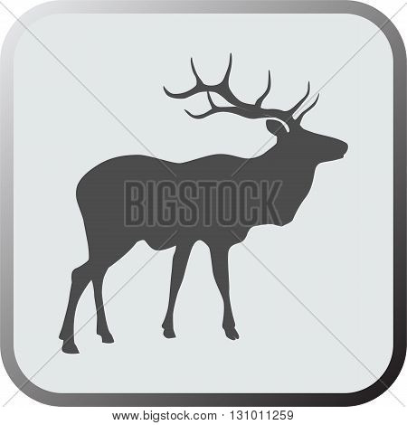 Deer icon. Deer icon art. Deer icon eps. Deer icon Image. Deer icon logo. Deer icon sign. Deer icon flat. Deer icon design. Deer icon vector.