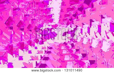 dirty drawing and painting pink abstract background