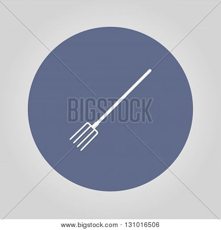 Pitchfork Icon. Vector concept illustration for design.