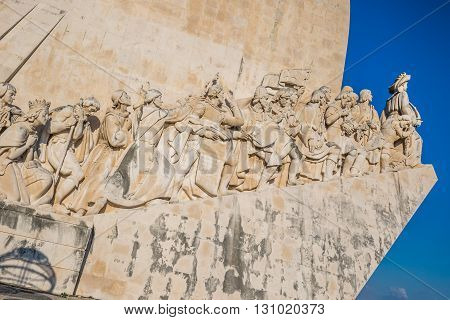 Monument to the Discoveries Lisbon Portugal Europe