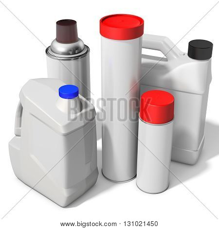 3D Blank Container, Bottle, Can Collection