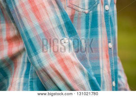 Plaid Shirt For Girl.