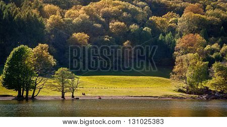The Lake District also known as The Lakes or Lakeland in NorthWestEngland