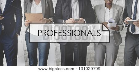 Professional Performance Skill Expert Concept