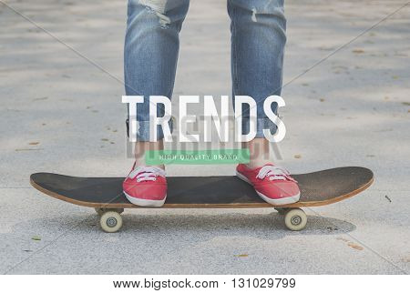 Youth Culture Hobby Trends Action Concept