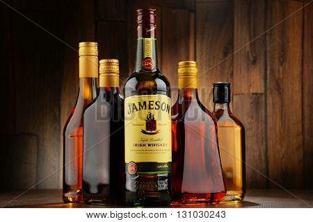 Bottle Of Jameson Irish Whiskey