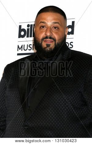 LAS VEGAS - MAY 22:  DJ Khaled at the Billboard Music Awards 2016 at the T-Mobile Arena on May 22, 2016 in Las Vegas, NV