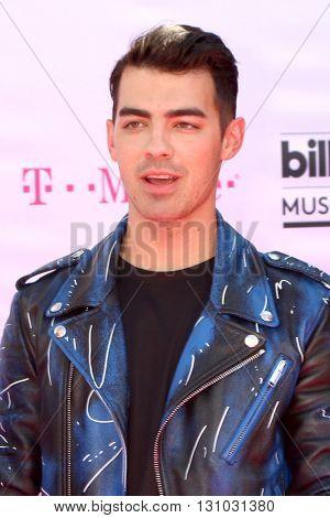 LAS VEGAS - MAY 22:  Joe Jonas at the Billboard Music Awards 2016 at the T-Mobile Arena on May 22, 2016 in Las Vegas, NV