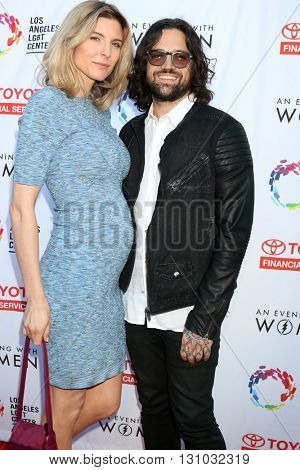 LOS ANGELES - MAY 21:  Viva Bianca, Antonio Beliveau at the An Evening With Women 2016 at Hollywood Palladium on May 21, 2016 in Los Angeles, CA