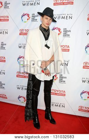 LOS ANGELES - MAY 21:  Madison Paige at the An Evening With Women 2016 at Hollywood Palladium on May 21, 2016 in Los Angeles, CA