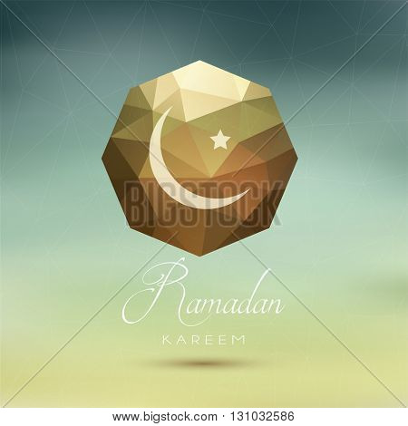 Abstract design background for Ramadan