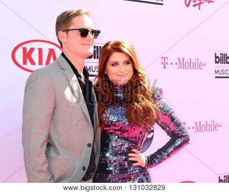 LAS VEGAS - MAY 22:  Ryan Trainor, Meghan Trainor at the Billboard Music Awards 2016 at the T-Mobile Arena on May 22, 2016 in Las Vegas, NV