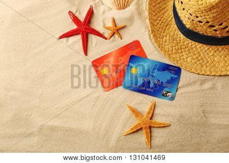 Pay cash on holiday with a credit card