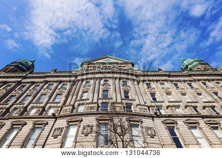 Old architecture of Belfast. Belfast Northern Ireland United Kingdom.