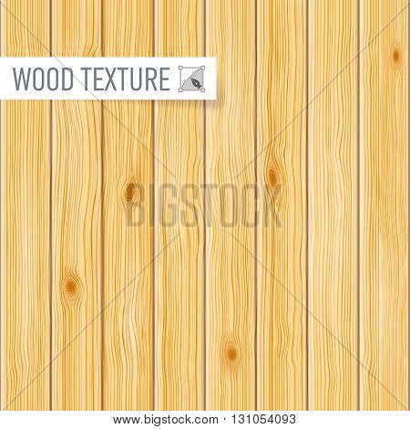 Seamless light wooden texture of a vertical planks