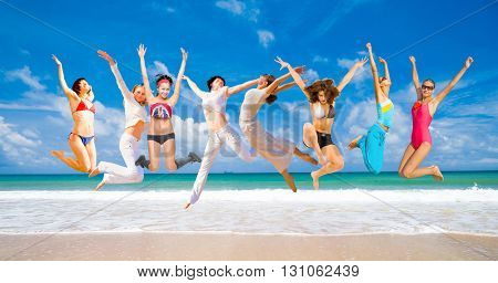 Flying Beauties Summer Exercise