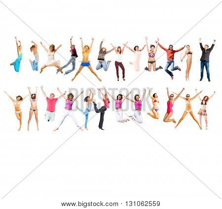 Jumping Together Winning Idea
