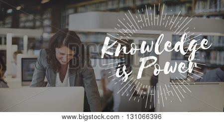 Knowledge is Power Education Wisdom Success Concept