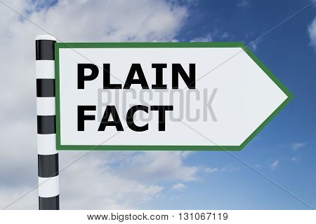 Plain Fact Concept
