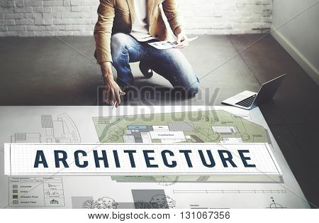 Architecture Construction Design Real Estate Residential Concept