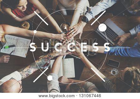 Success Motivation Development Achievement Concept