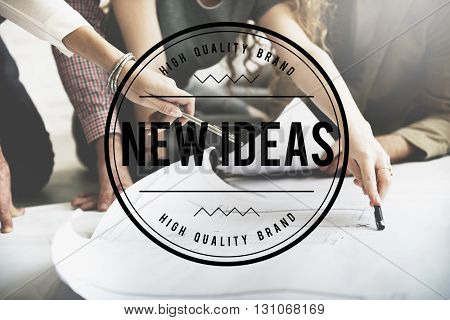 New Ideas Start up Innovation Creative Concept