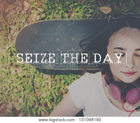Slow Life Seize Day Balance Concept