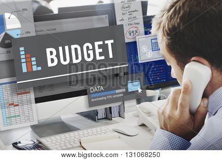 Budget Finance Cash Flow Profit Concept