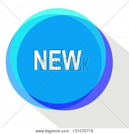 new. Internet template. Vector icon.