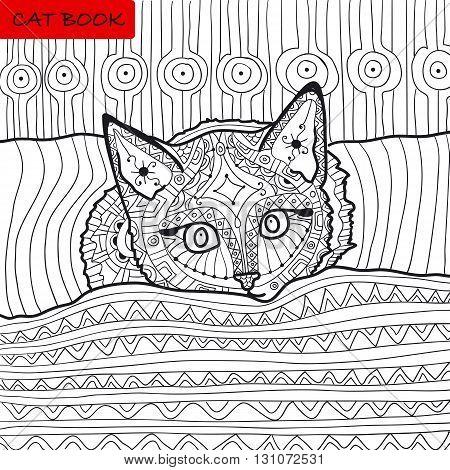 Cat Mandala Coloring Book Cat Mandala Coloring Book fun