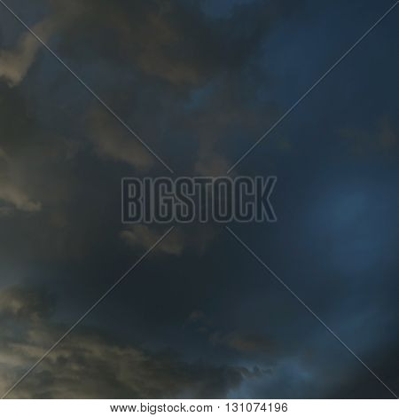 Heavy Rain Storm Clouds, Thunderstorm Dramatic Sky, Bad Day Weather Background