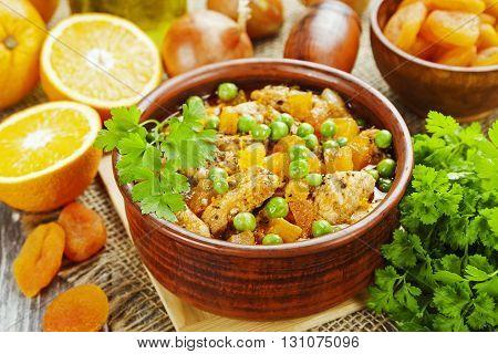 Chicken With Oranges