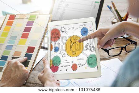 Idea Action Objective Design Mission Plan Concept