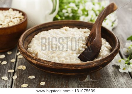 Porridge With Milk