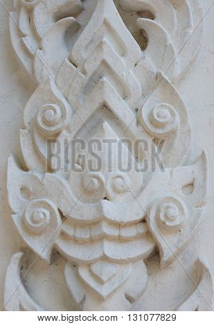 Traditional Thai Style Pattern Decorative Background