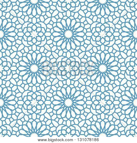 Arabic seamless pattern. Pattern fills. Oriental, arabic style. Mosaic seamless patterns. Arabic ornaments. Vector illustration.