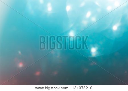 Red And Blue Background, Abstract Bokeh Light Celebration Blur Background