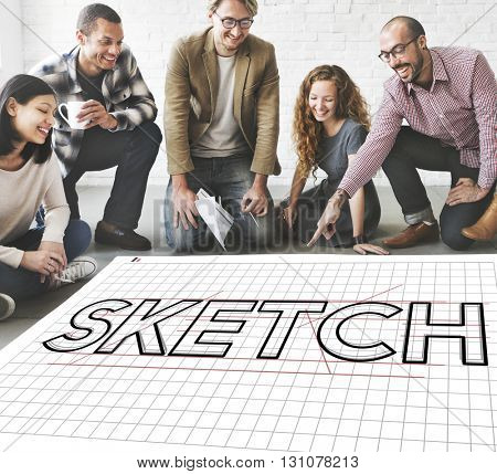 Sketch Design Designer Creative Idea Concept