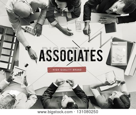 Colleagues Associates Coworkers Team People Concept