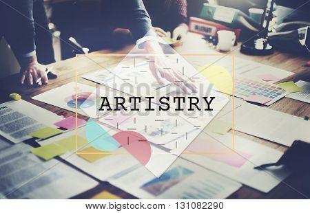 Artistry Create Design Skills Concept