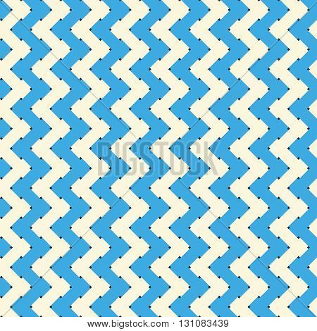 Seamless background with geometric pattern vector image. Infinitely interwoven lattice.
